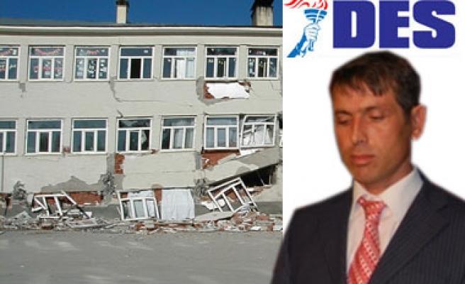 Tüm Okullar Deprem Testinden Geçmeli