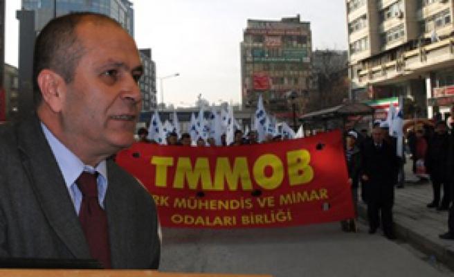 TMMOB 15 Mayıs'ta Ankara'da!