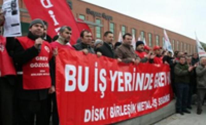 Eskişehir'de metal işçilerinin grevi başladı