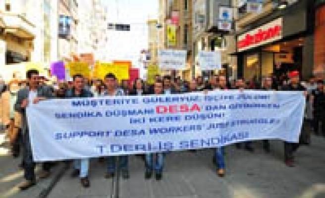 Deri-İş: 'DESA'yı boykot et!'