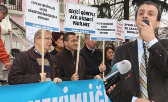 İstanbul'da Sağlık Geçici Çözümlerle Yönetilmeye Çalışılmakta, Tam Bir Karmaşa Yaşanmaktadır!
