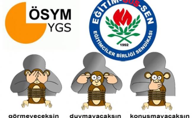 EĞİTİM SUS-SEN'İN  HAK ARA-MA  MÜCADELESİ!