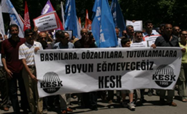 KESK Ankara Şubeler Platformu tarafından AKP'nin Baskı Ve Sindirme Politikaları Kınandı