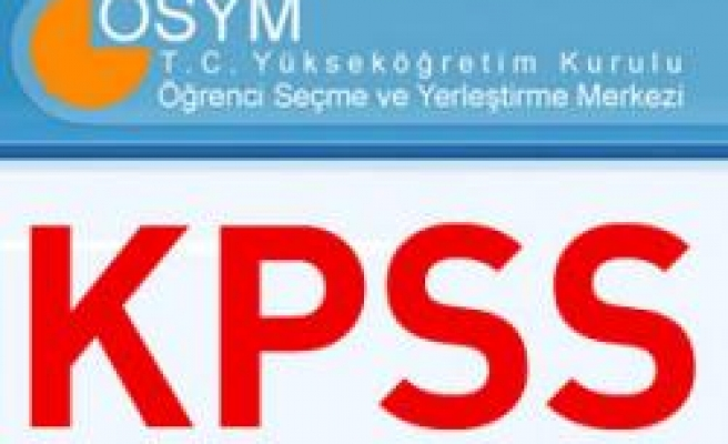 2011 KPSS MERKEZLERİ BELLİ OLDU