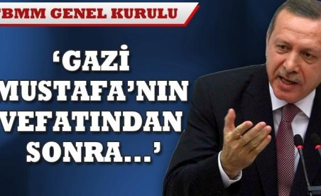 BAŞBAKAN ERDOĞAN ELEŞTİRİLERE SERT CEVAP VERDİ !