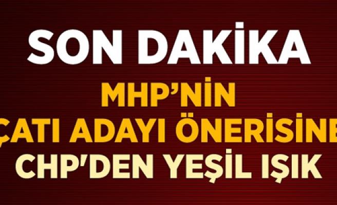 CHP' DEN MHP' YE ÇATI ADAY DESTEĞİ