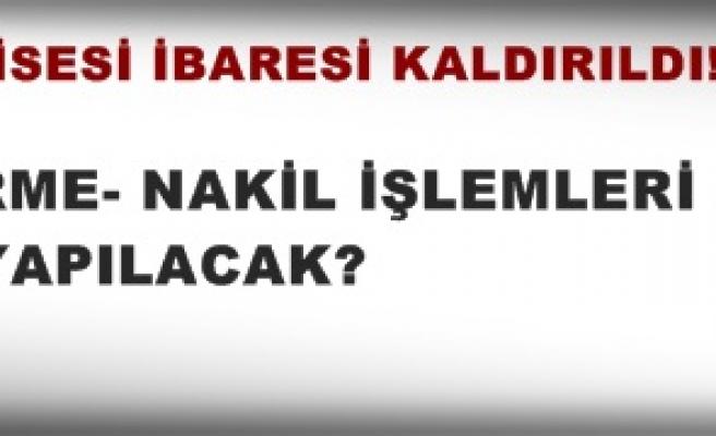 ANADOLU ÖĞRETMEN LİSESİ İBARESİ KALDIRILDI