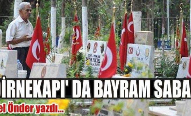 EDİRNEKAPI' DA BAYRAM SABAHI