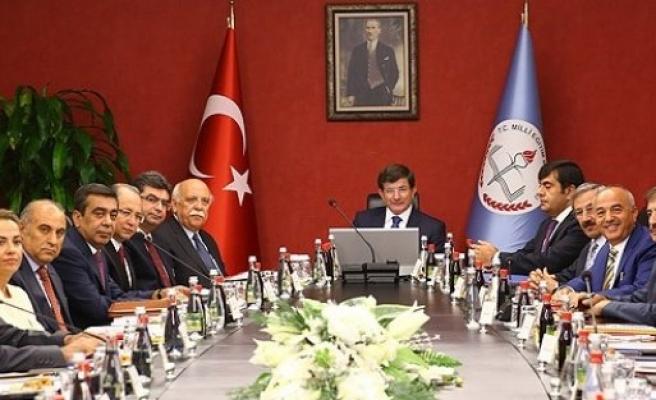 BAŞBAKAN DAVUTOĞLU MEB'İ ZİYARET ETTİ ...