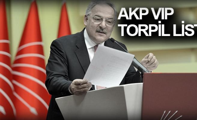AKP'NİN BİR TORPİL LİSTESİ DAHA YAYINLANDI ...