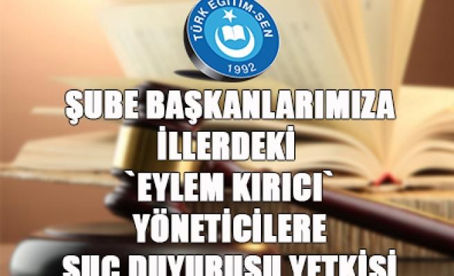 TÜRK EĞİTİM - SEN MEB'İ UYARDI...