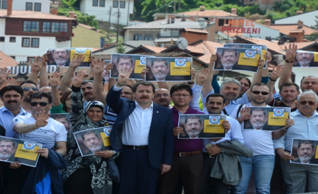 MURSİ'YE PRİZREN DEN ÖZGÜRLÜK DESTEĞİ