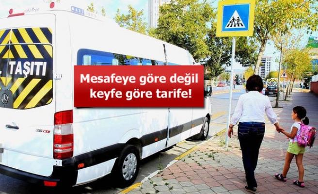 SERVİS ÜCRETLERİ VELİLERİ ÇILDIRTTI !