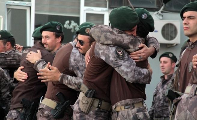 Afrin'den destan yazan PÖH'lere İstanbul'da coşkulu karşılama