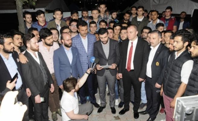 AK Parti Bağcılar Gençlik Kollarından sosyal medyadaki görüntülerle ilgili açıklama