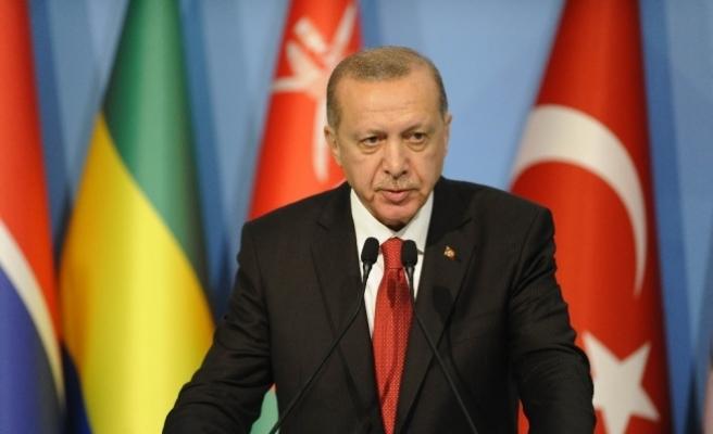 """Cumhurbaşkanı Erdoğan: """"Uluslararası Barış gücü gönderme dahil bir koruma sağlaması şarttır"""""""