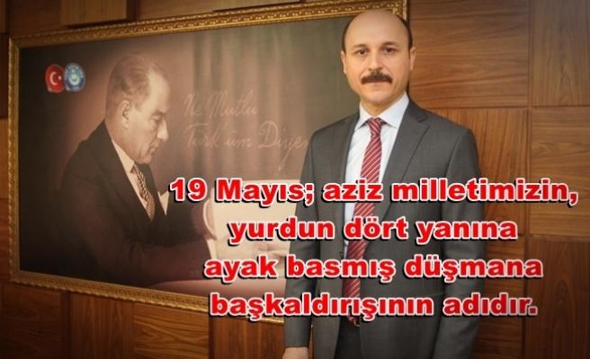 Genel Başkan Geylan'dan 19 Mayıs Mesajı