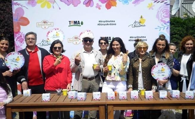 İstanbul'da 'Arıyı Unutma' etkinliği düzenlendi