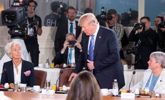 Trump G7 zirvesinden erken ayrıldı