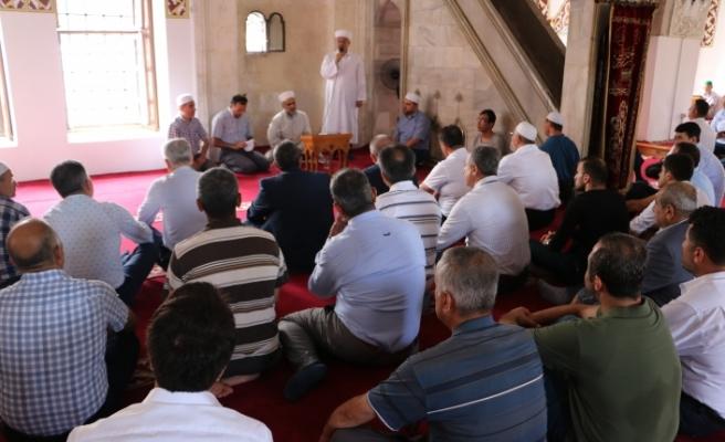 15 Temmuz Şehitleri İçin Anadolu'nun İlk Camisinde Mevlit Okutuldu