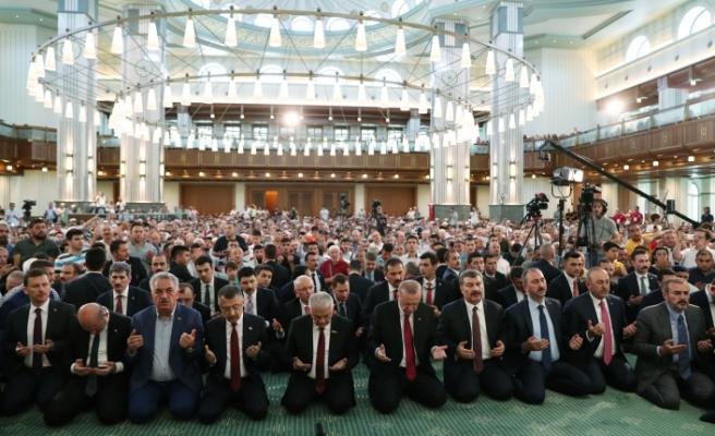 15 Temmuz Şehitlerini Anma Programı Millet Camii'nde Yapıldı