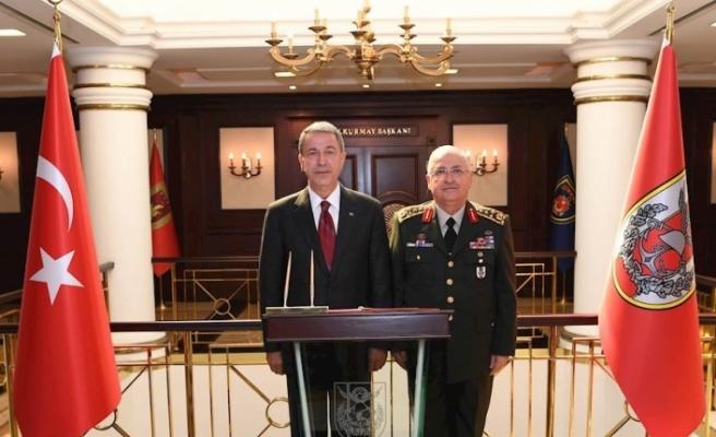 Akar'dan Genelkurmay Başkanı Güler'e Ziyaret