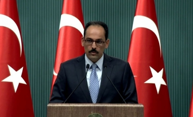 Cumhurbaşkanlığı Sözcüsü İbrahim Kalın'dan Kritik Açıklamalar! Cuma Günü Açıklanacak