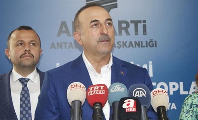 Dışişleri Bakanı Mevlüt Çavuşoğlu'ndan ABD'ye Sert Cevap