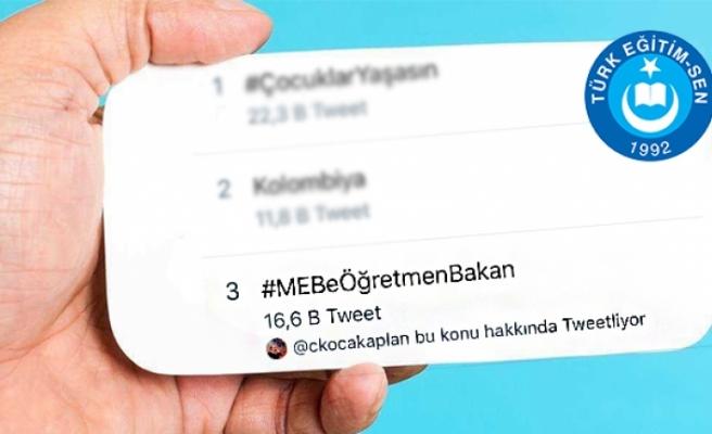 Hashtag Çalışması Sosyal Medyayı Salladı