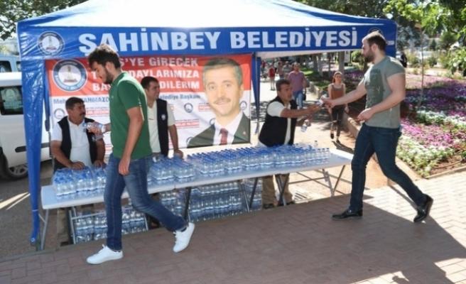 Şahinbey Belediyesi KPSS 2018 Sorularını Çözen Vatandaşları Yalnız Bırakmadı
