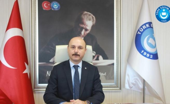 Türk Eğitim-Sen Genel Başkanı Talip Geylan: Hayırlı Olsun