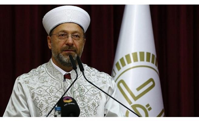 Diyanet İşleri Başkanı Prof. Dr. Erbaş'tan Faiz Eleştirisi