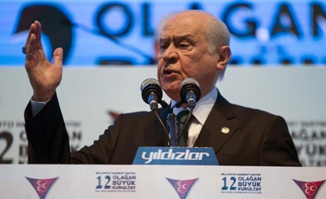 MHP Genel Başkanı Devlet Bahçeli'den Flaş Münbiç Açıklaması