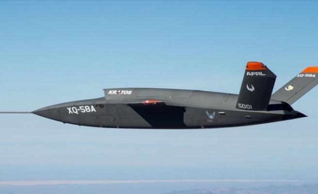 İnsansız Savaş Uçağı İlk Kez Havalandı