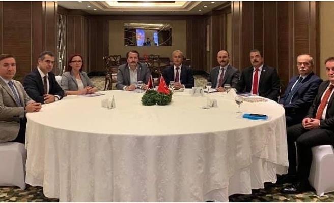 Genel Başkan: Dört Sendika Başkanı Meb'in Ev Sahipliğinde Bir Araya Geldik