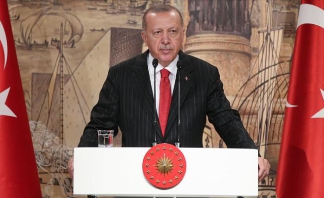 Cumhurbaşkanı Erdoğan'dan 29 Ekim Mesajı Yine Tarihi Bir Mücadelenin İçindeyiz