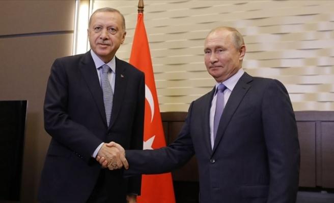 Cumhurbaşkanı Erdoğan İle Rusya Devlet Başkanı Putin'in Görüşmesi Başladı