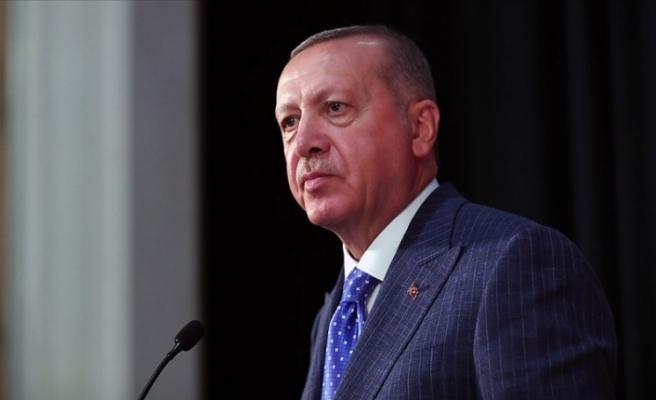 Cumhurbaşkanı Erdoğan'dan Kenter İçin Başsağlığı Mesajı