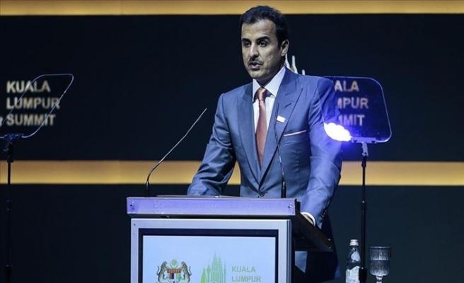 Katar Emiri: İhtiyaç Halinde Koşulsuz Yardım Yapıyoruz