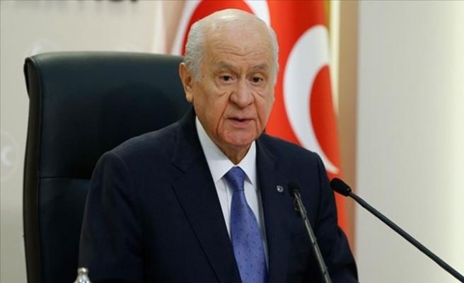MHP Lideri Bahçeli'den Kanal İstanbul Açıklaması