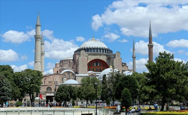 İslam Dünyasından Türkiye'ye Ayasofya Camii Tebriği