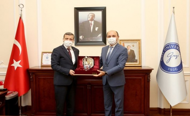 Genel Başkan, Gazi Üniversitesi Rektörü Prof. Dr. Musa Yıldız'ı Ziyaret Etti