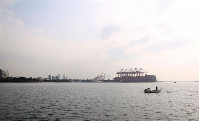 Mersin Limanı Lübnan'ın Hizmetinde