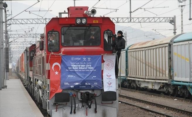 Çin Türkiye'den Yola Çıkan İlk İhracat Treninden Memnun