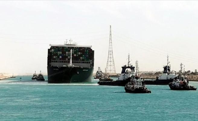 Süveyş Kanalı'ndaki Kazayla İlgili Soruşturma Başlatıldı