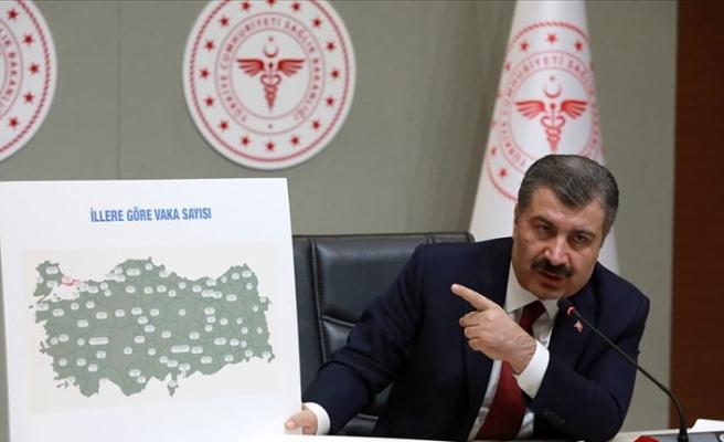 Sağlık Bakanı Koca İllere Göre Haftalık Kovid-19 Vaka Sayılarını Açıkladı