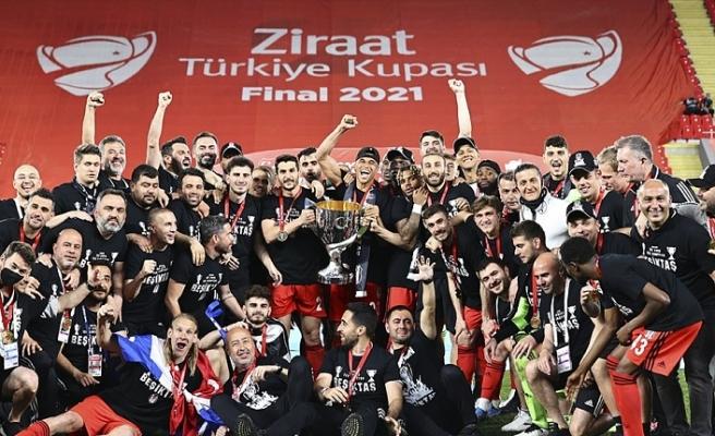 Ziraat Türkiye Kupası'nın Sahibi Beşiktaş!