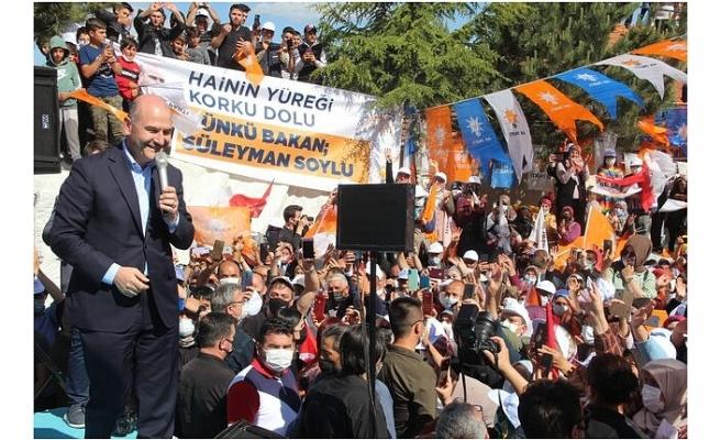 """Süleyman Soylu Miting Düzenledi: """"Temmuz Ayından İtibaren Ülkemin Ekonomisi Atağa Kalkacak!"""""""