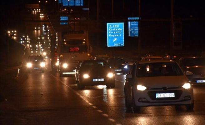 Kırıkkale, Trafikte Kilitkale Oldu