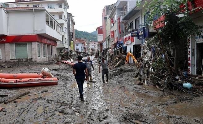 AFAD: Sel Nedeniyle Kastamonu'da 25, Sinop'ta 2 Kişi Hayatını Kaybetti
